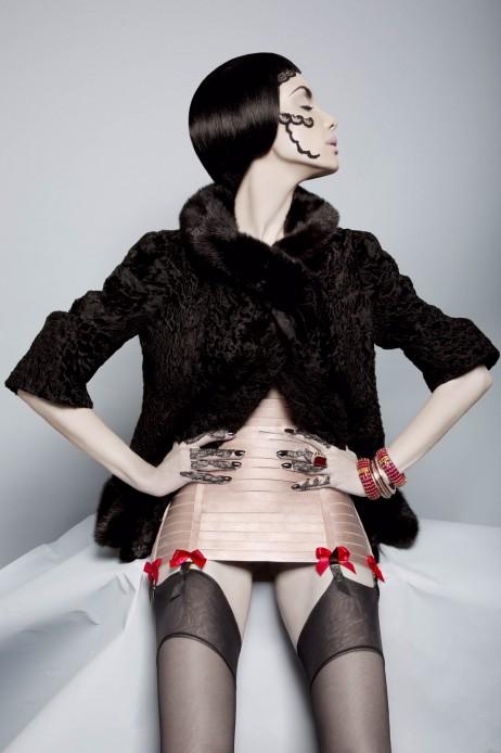 "Fashion Editorial ""Socialite"" Magazine by Natasha Kertes"