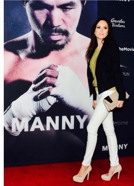 "Yulia Klass At the premiere of new film ""Manny"" Hollywood, Ca"