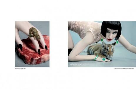KURV Editorial spread w Natasha Kertes