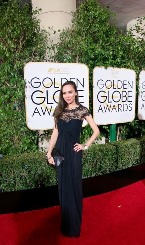 Yulia Klass at Golden Globe Awards
