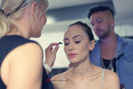 Behind the scenes -Albert Heisler photo